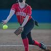 Courtney Shifflett pitching