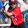 Haley Shifflett at bat