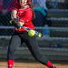 Haley Orebaugh at bat