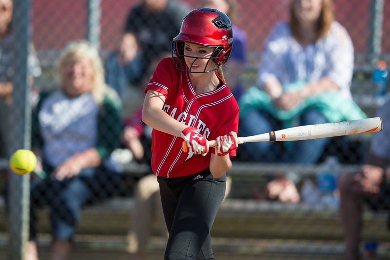 Meredith Dean at bat.