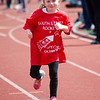 South Street Elementary's Danielle Couture competes in the Special Olympics at Fitchburg State's Elliot Field on Friday morning. SENTINEL & ENTERPRISE / Ashley Green