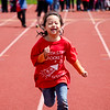 South Street Elementary's Daisy Chang competes in the Special Olympics at Fitchburg State's Elliot Field on Friday morning. SENTINEL & ENTERPRISE / Ashley Green