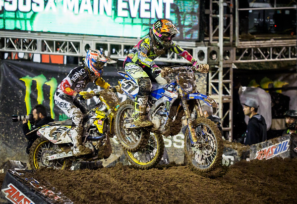Las Vegas Supercross - 7 May 2016