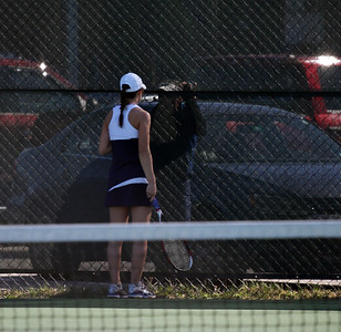 Tennis vs South Burlington in Essex