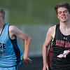 Caleb Thompson in boys 1600M