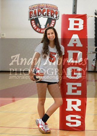 2016 Tucson Girls Volleyball Team Photos