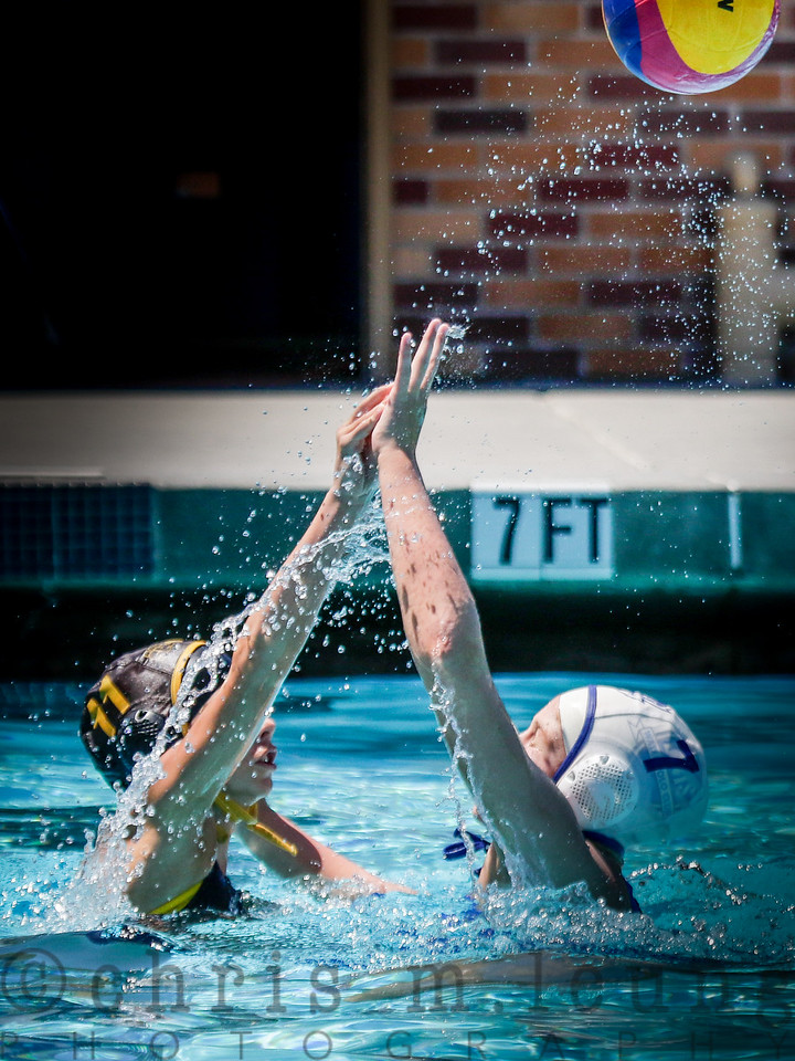 7/30/16 2016 USA Water Polo JO/12G Davis vs SD Shores A at Carlmont High School in Belmont, Ca. KLCFotos-Chris M. Leung  for USA Water Polo