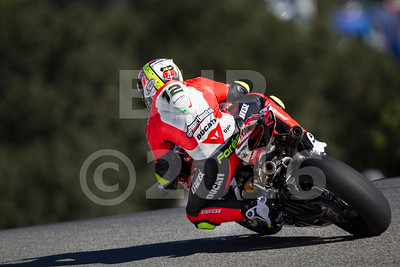 Xavi Fores ESP Ducati Panigale R Barni Racing Team, Motul FIM Superbike World Championship, GEICO Motorcycle U.S. Round at Mazda Raceway Laguna Seca