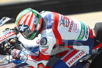 Nicky Hayden USA Honda CBR1000RR SP Honda World Superbike Team, The Motul FIM Superbike World Championship, GEICO Motorcycle U.S. Round, featuring the Honda Superbike Showdown of California at Mazda Raceway Laguna Seca