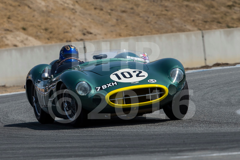 Rolex Monterey Motorsports Reunion  2A 1955-1961 Sports Racing Touring Cars over 2000