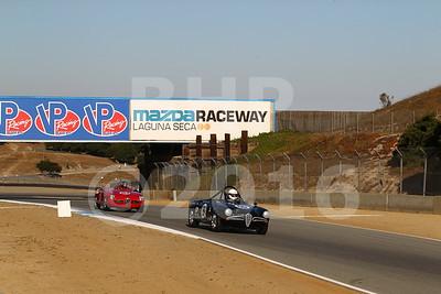 Pre-Reunion Group 2 - 1955-1962 GT Cars at Mazda Raceway Laguna Seca