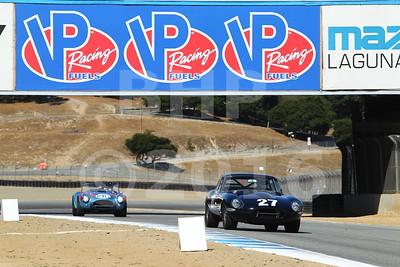 Pre-Reunion Group 6 - 1963-1966 GT Cars over 2500cc at Mazda Raceway Laguna Seca