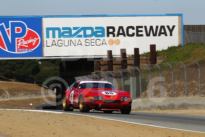 Pre-Reunion Group 6 - 1963-1966 GT Cars over 2500cc at Mazda Raceway Laguna Seca