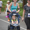 Westfield's Hillary Jellison takes son Levi for more than a stroll.