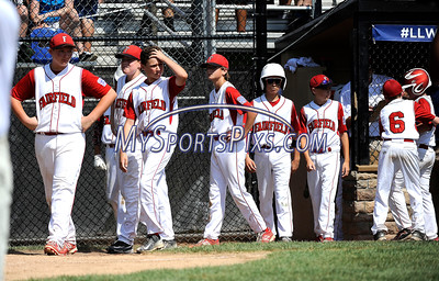 8/13/2016 Mike Orazzi | Staff Connecticut after losing the New England Final at the Eastern Regional Little League Tournament in Bristol Saturday afternoon. Warwick North defeated Fairfield American 5-1 to advance to the Little League World Series.