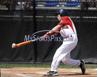 8/12/2016 Mike Orazzi   Staff Connecticut's Matt Longo (12) during the Eastern Regional Little League Tournament at Breen Field Friday.