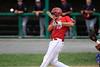 8/5/2016 Mike Orazzi   Staff<br /> Bristol American Legion's Andrew Owsianko (10) during the Northeast Regional American Legion Baseball Tournament in Bristol Friday.