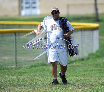 8/12/2016 Mike Orazzi   Staff Coachie during the Eastern Regional Little League Tournament at Breen Field Friday.