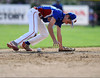 8/9/2016 Mike Orazzi | Staff<br /> New Jersey's Zachary Gorman (10) fields a ground ball during the Eastern Regional Little League Tournament at Breen Field in Bristol Tuesday.