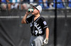 8/13/2016 Mike Orazzi | Staff<br /> Rhode Island's D.J. Sollitto (7) takes a drink during the New England Final at the Eastern Regional Little League Tournament in Bristol Saturday afternoon. Warwick North defeated Fairfield American 5-1 to advance to the Little League World Series.