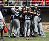 8/13/2016 Mike Orazzi | Staff<br /> Rhode Island celebrates during the New England Final at the Eastern Regional Little League Tournament in Bristol Saturday afternoon. Warwick North defeated Fairfield American 5-1 to advance to the Little League World Series.