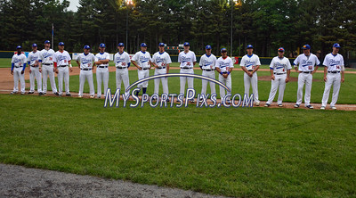 6/3/2016 Mike Orazzi | Staff  The Bristol Blues home opener at Muzzy Field Friday night.