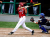 8/5/2016 Mike Orazzi   Staff<br /> Bristol American Legion's Richard Lemke (5) during the Northeast Regional American Legion Baseball Tournament in Bristol Friday.