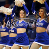 2/20/2016 Mike Orazzi | Staff<br /> Members of the Central Connecticut Dance Team during Saturday's basketball game with Wagner in Detrick Gymnasium at CCSU on Saturday.