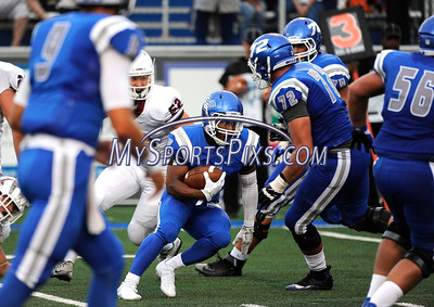 9/2/2016 Mike Orazzi | Staff  CCSU's Cameron Nash (5)  in New Britain Friday night.