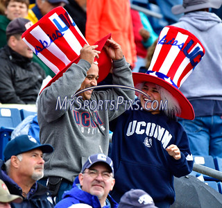 10/22/2016 Mike Orazzi | Staff UConn football fans against UCF Saturday in East Hartford.