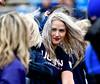 10/22/2016 Mike Orazzi | Staff<br /> UConn alumni cheerleaders Saturday in East Hartford against UCF.