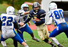 10/22/2016 Mike Orazzi | Staff<br /> RHAM's Peter Toupence (6) against Plainville in Hebron.