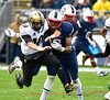 10/22/2016 Mike Orazzi | Staff<br /> UConn's Vontae Diggs (13) and UCF's Milton McKenzie (10) Saturday in East Hartford.
