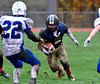 10/22/2016 Mike Orazzi | Staff<br /> RHAM's Tommy Doyle (5) against Plainville in Hebron.