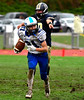 10/22/2016 Mike Orazzi | Staff<br /> Plainville's Jake Theriault (21) in Hebron Saturday.