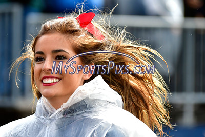 10/22/2016 Mike Orazzi | Staff UConn cheerleaders Saturday in East Hartford against UCF.