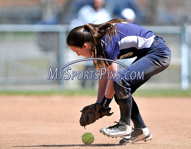 4/15/2016 Mike Orazzi | Staff Newington's Kacey Blais (3) on Friday at Eastern.