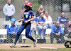 4/15/2016 Mike Orazzi | Staff<br /> Newington's Cyan Gonzalez (6) scores on Friday at Eastern.