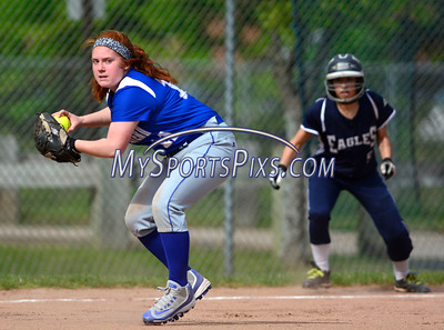 5/18/2016 Mike Orazzi | Staff Bristol Eastern's Nichole D'Amato (11) against Wethersfield Wednesday.