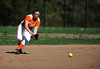 4/27/2016 Mike Orazzi | Staff<br /> Terryville High School's Emmilena Russo (8) against Shepaug Wednesday afternoon.