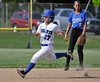 6/2/2016 Mike Orazzi | Staff<br /> Southington High School's Victoria Aldieri (17) during the Class LL Quarterfinals of the CIAC 2016 State Softball Tournament in Southington Thursday.