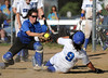 6/2/2016 Mike Orazzi | Staff<br /> Southington High School's Delaney Picard (9) with a home run during the Class LL Quarterfinals of the CIAC 2016 State Softball Tournament in Southington Thursday.