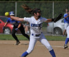 6/2/2016 Mike Orazzi | Staff<br /> Southington High School's Brenna Sarantides (7) during the Class LL Quarterfinals of the CIAC 2016 State Softball Tournament in Southington Thursday.