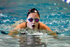 9/23/2016 Mike Orazzi | Staff<br /> Bristol Central's Amanda Shepard during a swim meet with Farmington Friday.