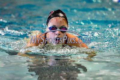 9/23/2016 Mike Orazzi | Staff Bristol Central's Amanda Shepard during a swim meet with Farmington Friday.