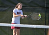 5/20/2016 Mike Orazzi | Staff<br /> Bristol Central's Emily McAllister during Central vs Eastern tennis match Friday.