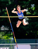 7/16/2016 Mike Orazzi | Staff<br /> Amy Zadroga competes in the pole vault during the Nutmeg State Games at Willow Brook Park on Saturday.