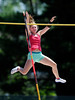 7/16/2016 Mike Orazzi | Staff<br /> Katie Segert competes in the pole vault during the Nutmeg State Games at Willow Brook Park on Saturday.