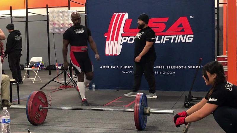 Deadlift 2 - 165kg