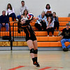 10/4/2016 Mike Orazzi | Staff<br /> Terryville volleyball's Alycia Calabrese (15).